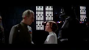 Tarkin and Leia