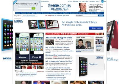 Nokia takeover on day of iPhone 4S